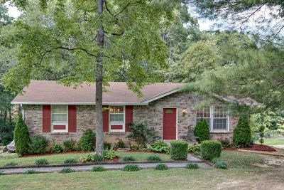 Kingston Springs Single Family Home Under Contract - Showing: 1203 Kingston Springs Rd