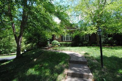 Nashville Single Family Home For Sale: 4410 Estes Rd
