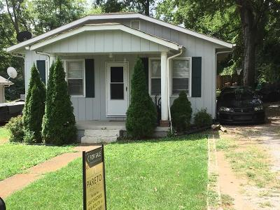 Davidson County Single Family Home For Sale: 511 Raymond St