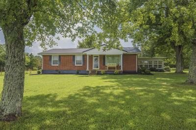 Mount Juliet Single Family Home Under Contract - Showing: 4558 Weakley Ln