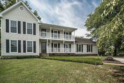 Hendersonville Single Family Home For Sale: 475 Jones Ln