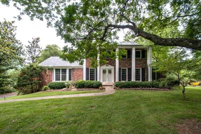 Davidson County Single Family Home Under Contract - Showing: 5317 Camelot Ct