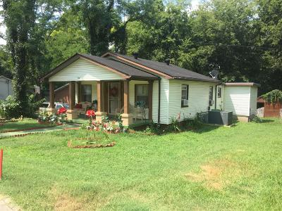 Davidson County Single Family Home For Sale: 1531 23rd Ave N