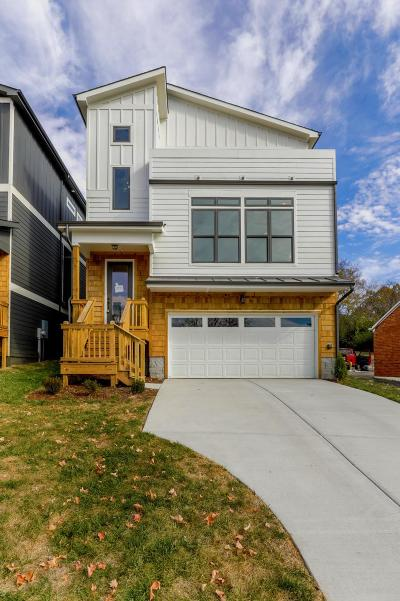 East Nashville Single Family Home Under Contract - Showing: 2613 B Airpark Drive