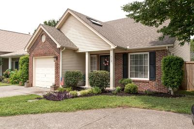 Franklin Single Family Home For Sale: 412 Newbary Ct
