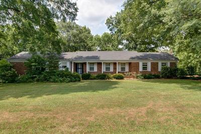 Nashville Single Family Home For Sale: 2244 Craigmeade Cir