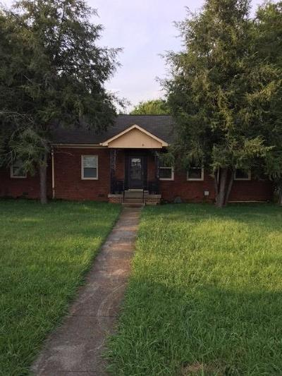 Rutherford County Single Family Home For Sale: 1515 Greenland Dr