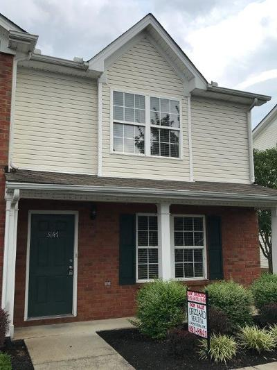 Murfreesboro Condo/Townhouse Under Contract - Not Showing: 3147 Shaylin Xing