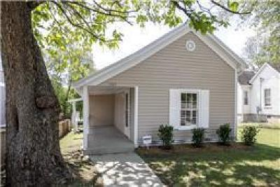 Nashville Single Family Home For Sale: 1705 11th Ave N