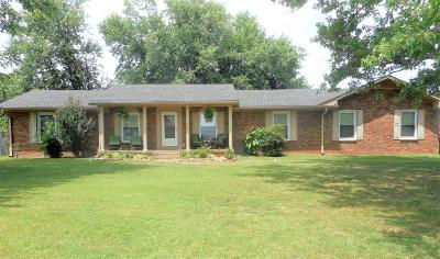 Sumner County Single Family Home For Sale: 600 New Deal Potts Rd