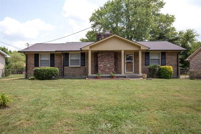 Davidson County Single Family Home For Sale: 4821 Everest Dr