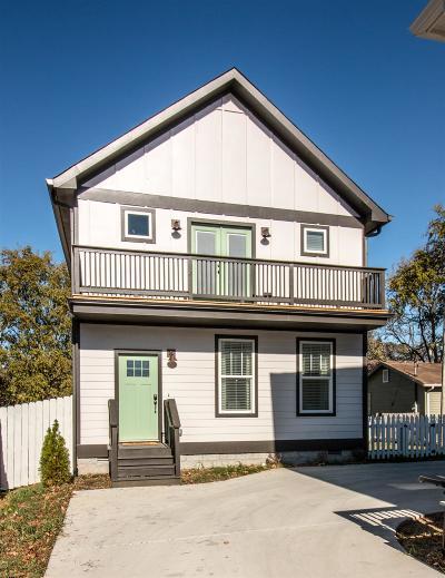 East Nashville Single Family Home For Sale: 1013 B Spain Ave