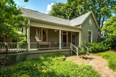 Nashville Single Family Home Under Contract - Showing: 4803 Elkins Ave