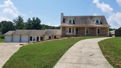 Christian County, Ky, Todd County, Ky, Montgomery County Single Family Home For Sale: 4760 Chester Harris Rd