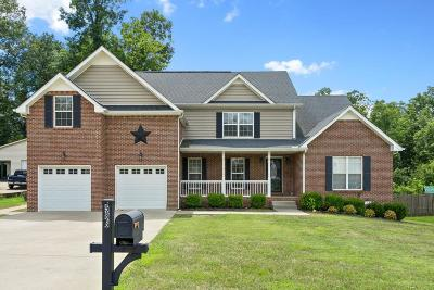 Christian County, Ky, Todd County, Ky, Montgomery County Single Family Home For Sale: 586 Winding Bluff Way