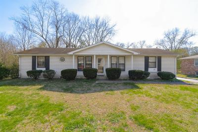 Nashville Single Family Home For Sale: 3227 Cloverwood Drive