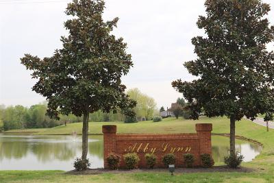 Christian County, Ky, Todd County, Ky, Montgomery County Condo/Townhouse Under Contract - Not Showing: 29 Abby Lynn Cir #29