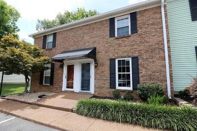 Franklin Condo/Townhouse Under Contract - Showing: 200 Royal Oaks Blvd Apt E2