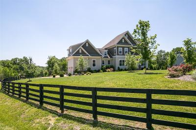 Franklin Single Family Home Under Contract - Showing: 2533 Belle Brook Dr