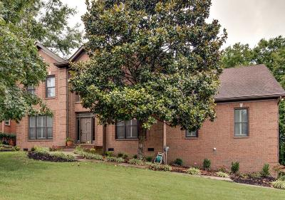 Brentwood Single Family Home For Sale: 1723 Stillwater Cir