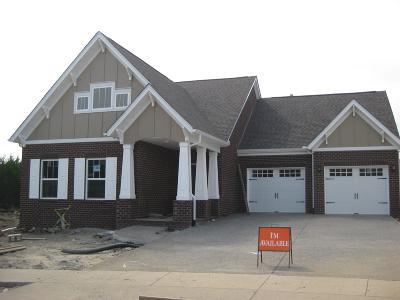 Nolensville Single Family Home For Sale: 233 Bent Creek Trace, Lot 1209