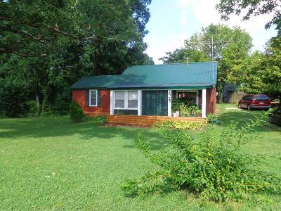 Ethridge Single Family Home For Sale: 2527 Shuler Branch Rd