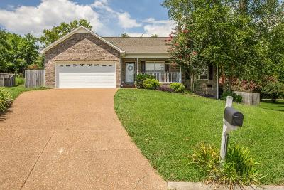 Thompsons Station Single Family Home Under Contract - Showing: 3110 Jeffrey Ct