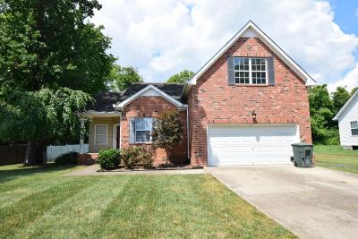 Hendersonville Single Family Home Under Contract - Showing: 1013 Whitley Place