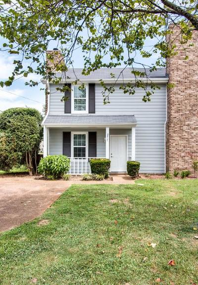 Nashville Single Family Home Under Contract - Showing: 2417 Robbie Ct