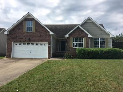 Christian County, Ky, Todd County, Ky, Montgomery County Single Family Home For Sale: 3500 Sandpiper Dr