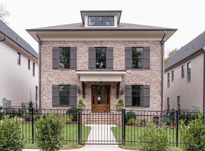 Nashville Single Family Home For Sale: 3621 Woodmont Blvd