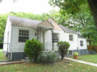 Nashville Single Family Home Under Contract - Showing: 1505 Jones Ave