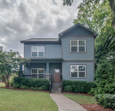 Sylvan Park Single Family Home For Sale: 317 51st Avenue North