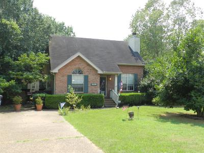 Gallatin Single Family Home Under Contract - Showing: 151 E Morris Dr