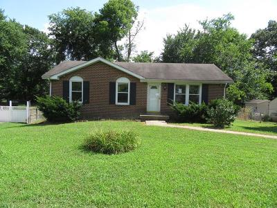 Clarksville Single Family Home Under Contract - Showing: 1971 Mark Ave