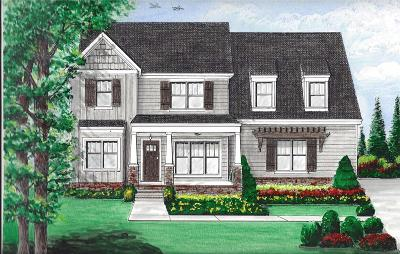 Williamson County Single Family Home For Sale: 231 Burberry Glen Blvd.-lot 2