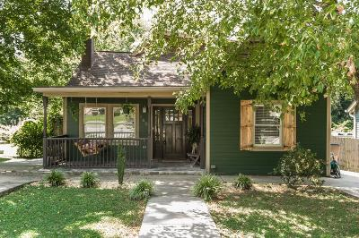 Nashville Single Family Home For Sale: 1406 Sharpe Ave