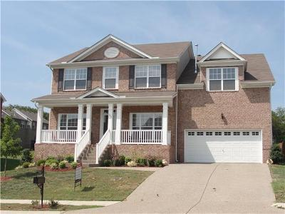 Nolensville Single Family Home Under Contract - Showing: 1247 Creekside Dr