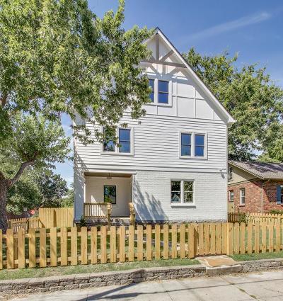 East Nashville Single Family Home For Sale: 1701 Long Ave
