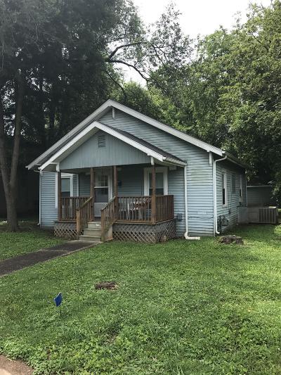 Murfreesboro Single Family Home For Sale: 1206 Frisco St