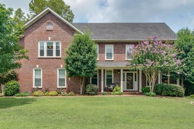 Franklin Single Family Home Under Contract - Showing: 1116 Glenbrook Dr