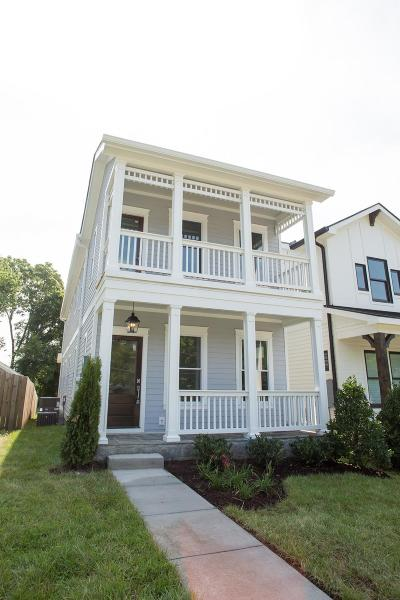 East Nashville Single Family Home For Sale: 517 A S 13th St