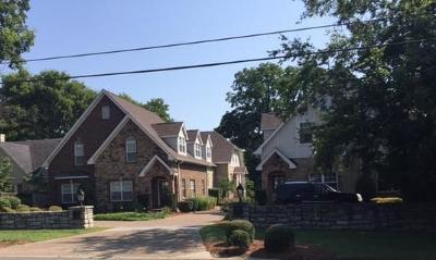 Nashville Single Family Home For Sale: 172 D Woodmont Blvd