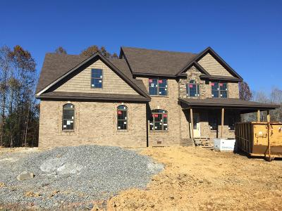 Clarksville Single Family Home For Sale: 11 Reda Estates