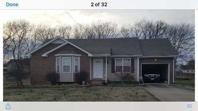 Christian County, Ky, Todd County, Ky, Montgomery County Single Family Home For Sale: 3879 Marla Cir