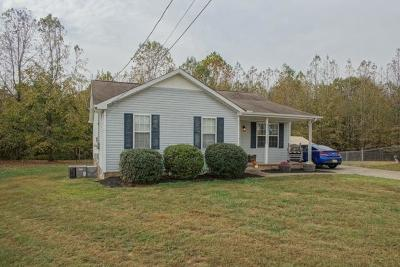 Clarksville TN Single Family Home For Sale: $92,000