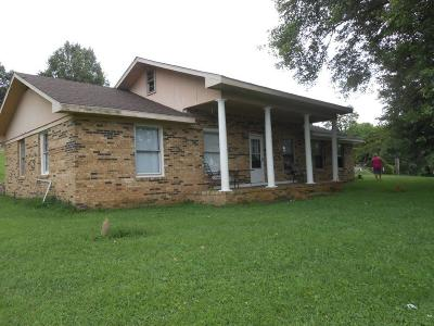 Shelbyville Single Family Home For Sale: 225 Old Flat Creek Rd