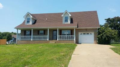 Clarksville Single Family Home Under Contract - Showing: 3666 Gracelawn Dr
