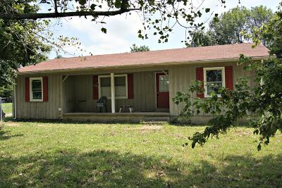 Bradyville Single Family Home For Sale: 9685 Jim Cummings Hwy