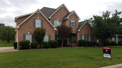 Murfreesboro Single Family Home For Sale: 3020 Tybee Trl